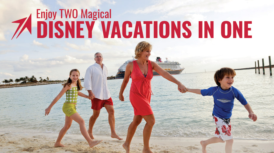 Enjoy Two Magical Disney Vacations in One