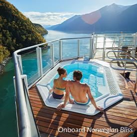Onboard Norwegian Bliss