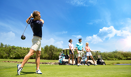 GOLF + KIDS FREE AT ALL-INCLUSIVE RESORTS