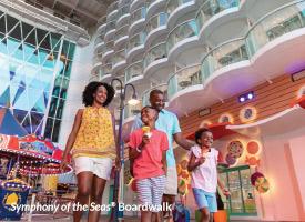 Symphony of the Seas® Boardwalk