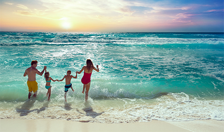 KIDS & TEENS STAY FREE AT ALL-INCLUSIVE RESORTS