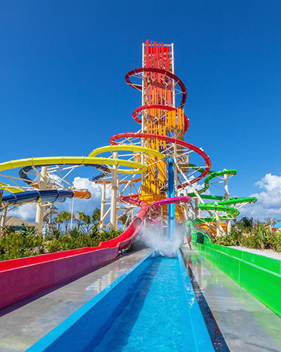 Devils Peak waterslide