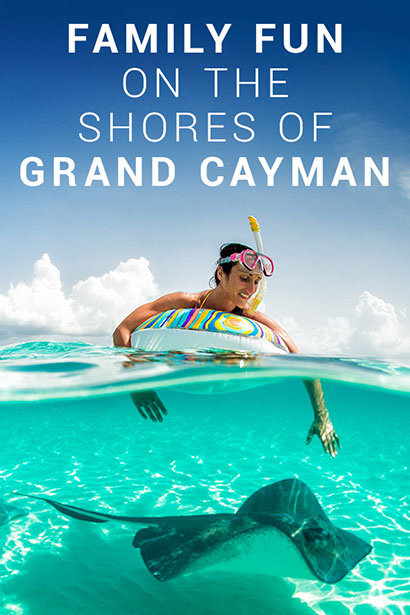 Family Fun on the Shores of Grand Cayman