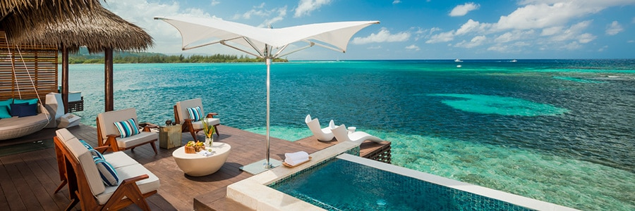 Overwater Bungalow Private Balcony
