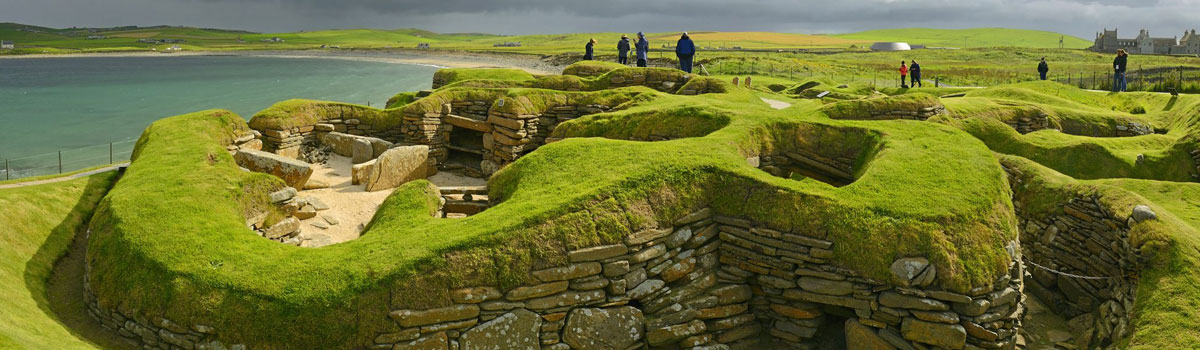 the fabled site of Skara Brae