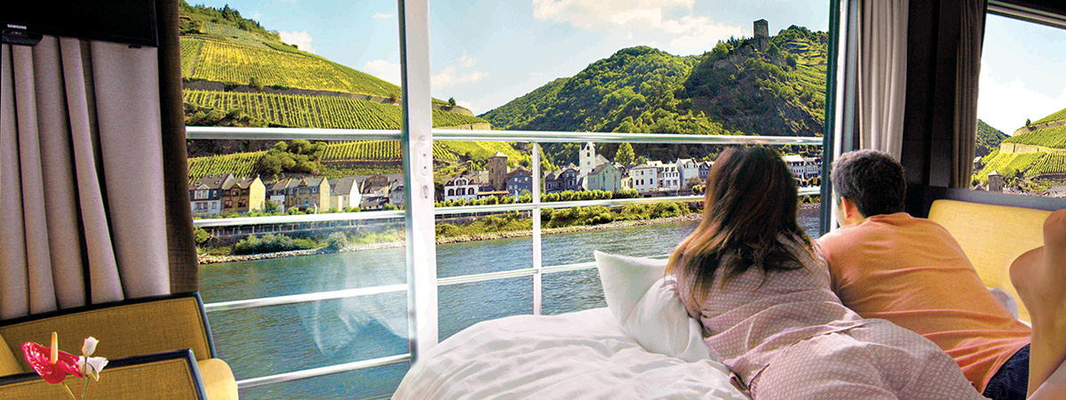 UNIQUE RIVER CRUISES. JUST LIKE YOU.