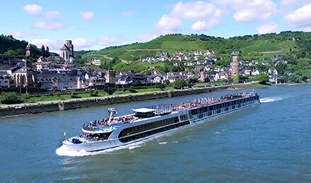 AN UNPARALLELED RHINE RIVER EXPERIENCE