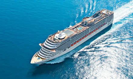 NOT JUST ANY CRUISE VOYAGE