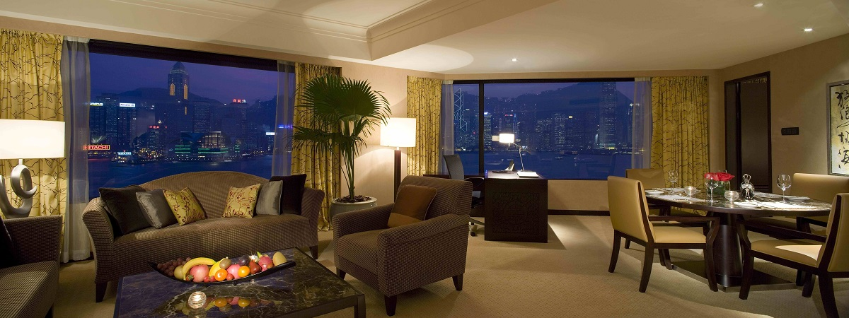 Book a suite at InterContinental Hong Kong & receive the 3rd night free!