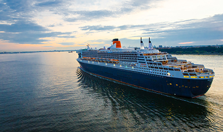 Famous Ships. Enriching Itineraries.