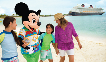 ENJOY THE ENCHANTMENT OF A DISNEY CRUISE TO THE CARIBBEAN