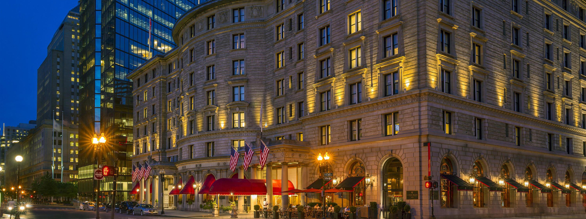 Double upgrade at time of booking at Fairmont Copley Plaza Boston!