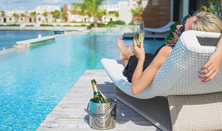 Get Pampered with Delta Vacations Luxury
