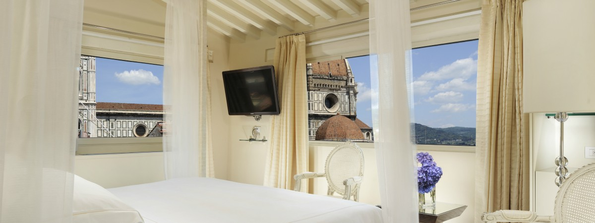 Star studded dreams in suites at The Brunelleschi Hotel