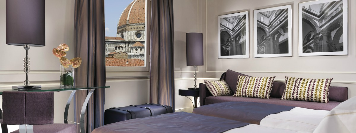 Enjoy unique gourmet experiences at The Brunelleschi Hotel's starred restaurant