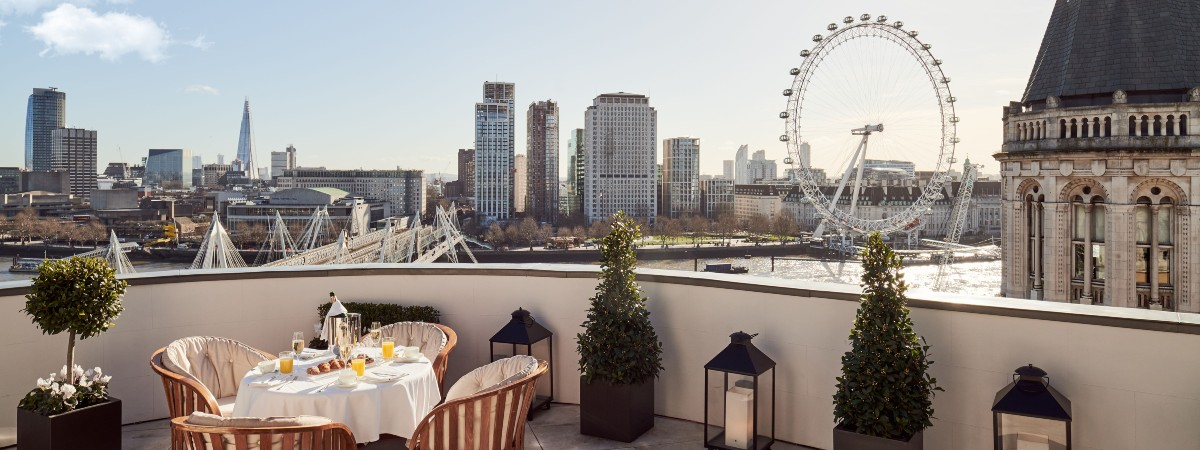 Corinthia London calling - received enhanced SELECT benefits with this special promotion