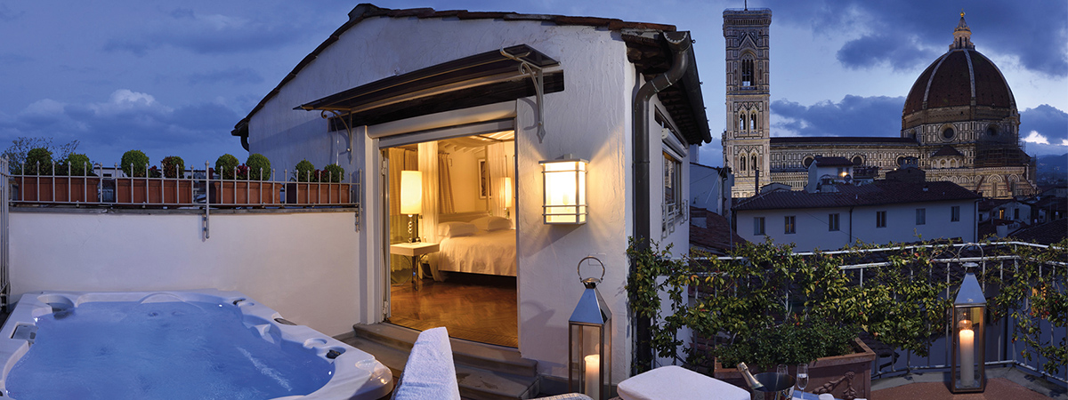 Long stay offer and suite promo at Brunelleschi Hotel