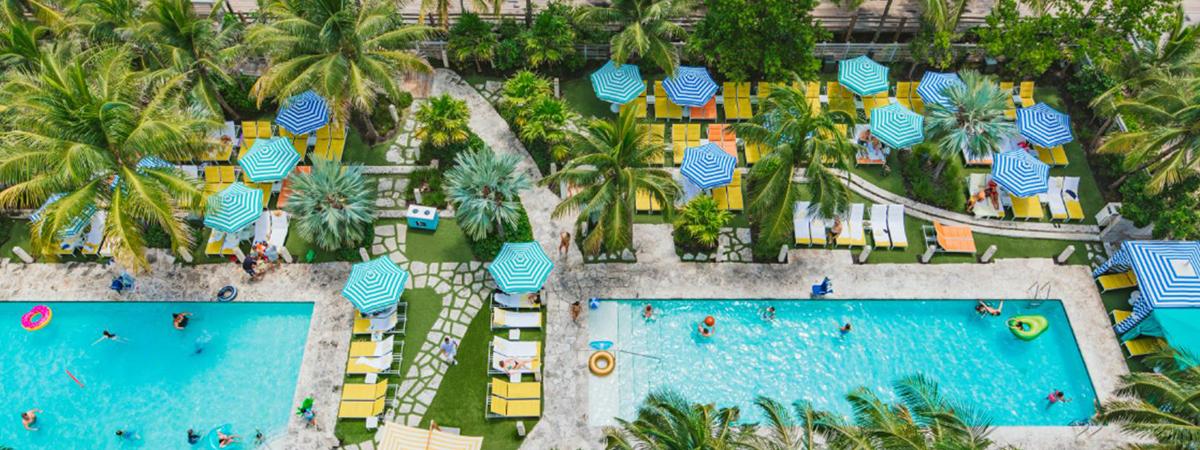 Winter getaway at The Confidante Miami Beach - 3rd night free!