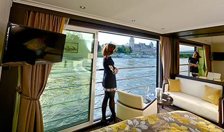 Upgrade to a Panorama Suite for Free on select 2021 Europe River Cruises*