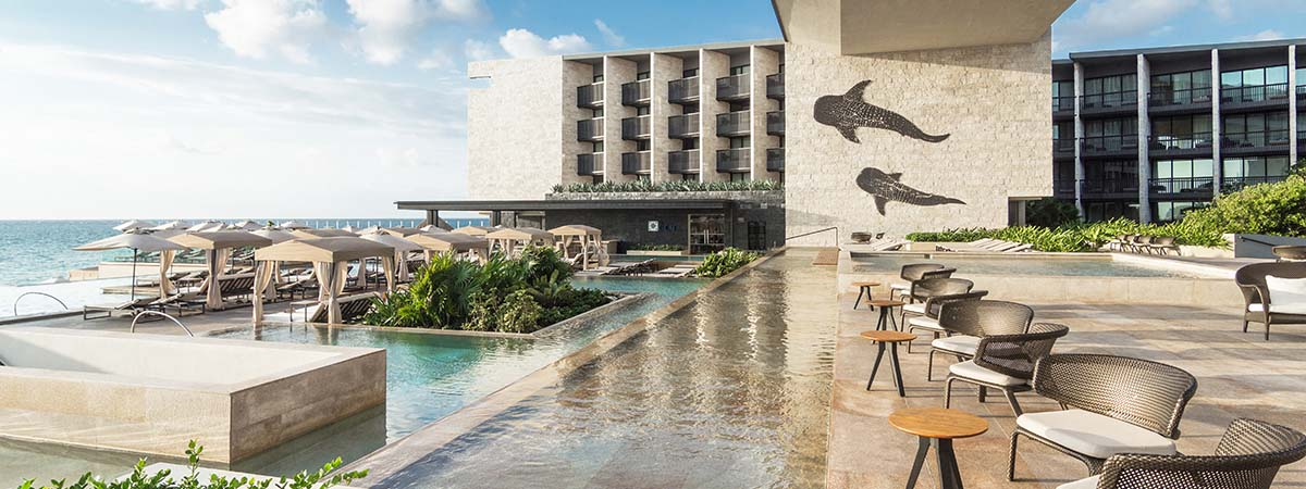 Escape to paradise with every 3rd night free at the spectacular Grand Hyatt Playa del Carmen