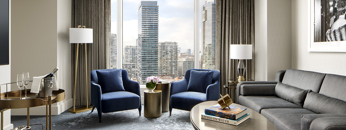 Third night free, upgrade and additional $100 credit at Ritz-Carlton Toronto