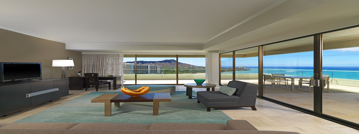 Moana Surfrider Penthouse Suite promotion