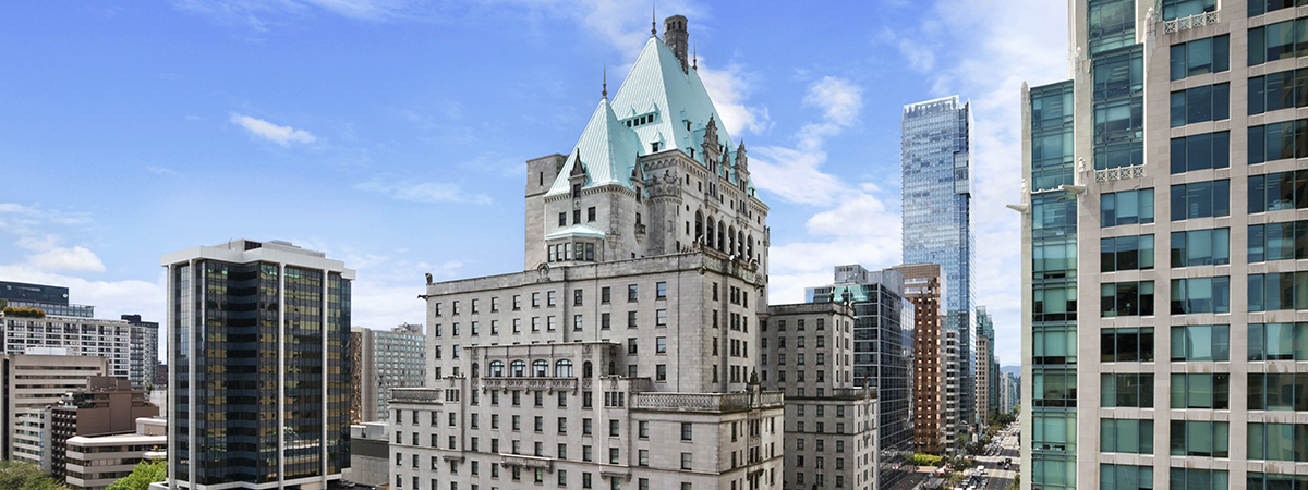 Save 15% at Fairmont Hotel Vancouver