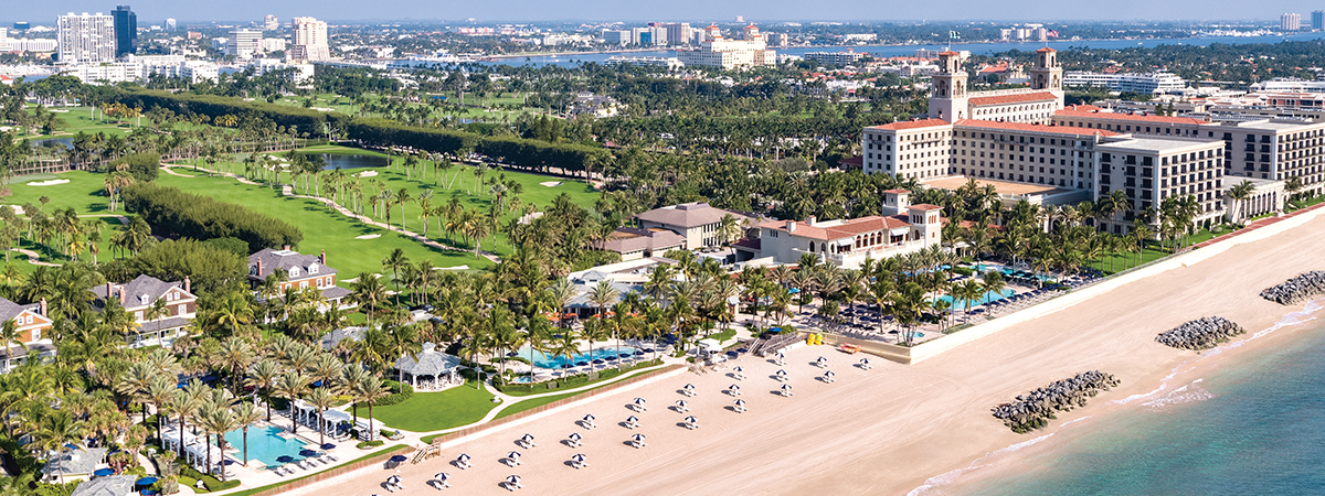 5th night free and complimentary benefits at The Breakers Palm Beach