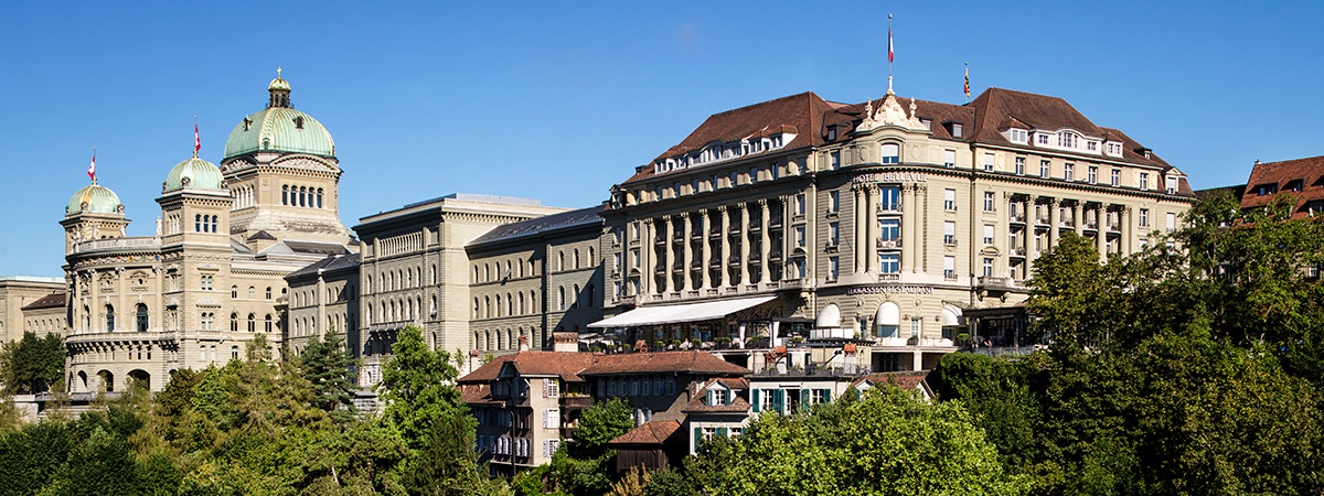 10% discount at Bellevue Palace Bern