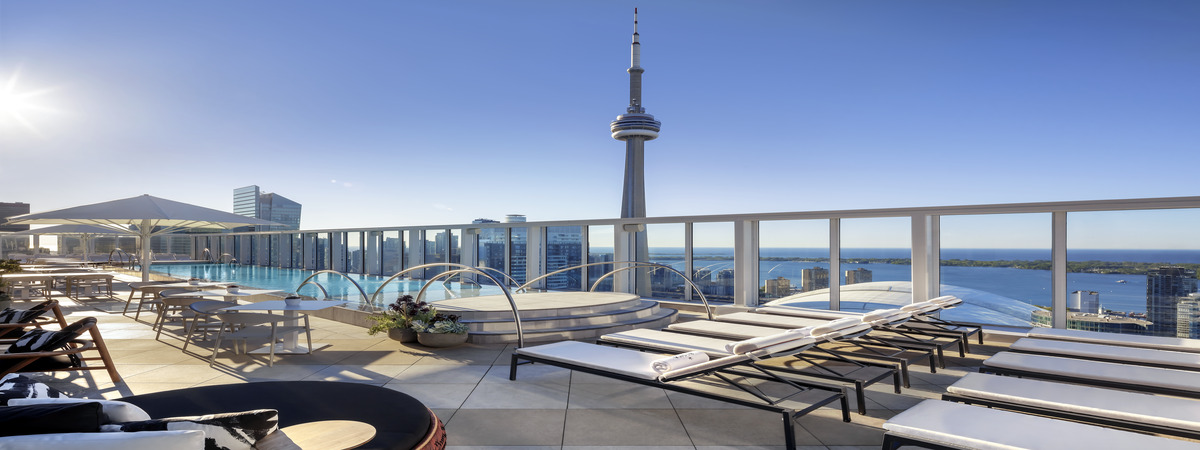 Every 3rd night is FREE at the chic and stylish Bisha Hotel in Toronto