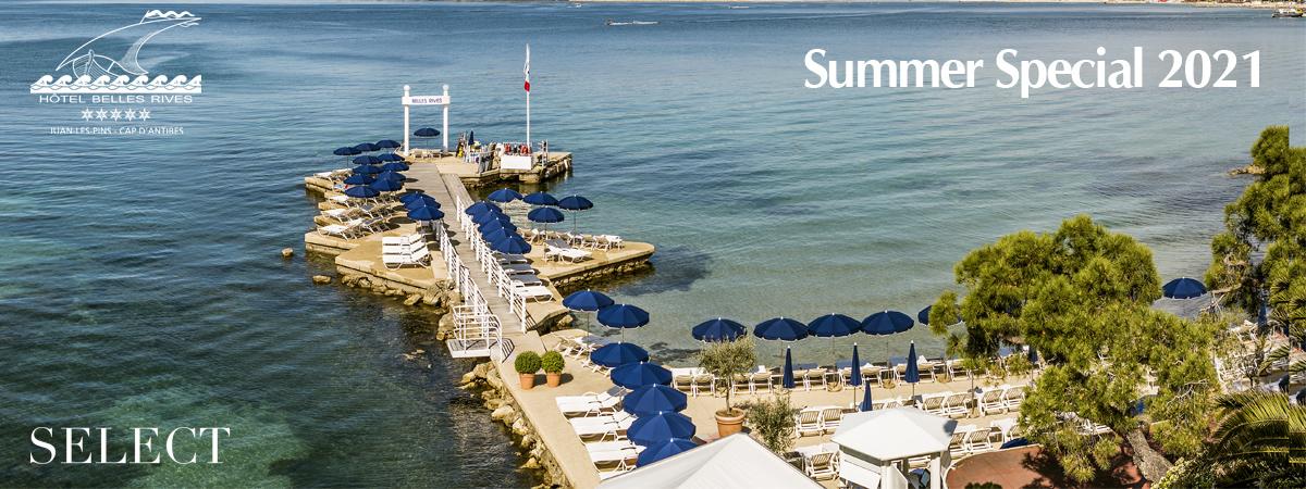 Belles Rives - Cap d'Antibes - Summer 2021 Exclusive