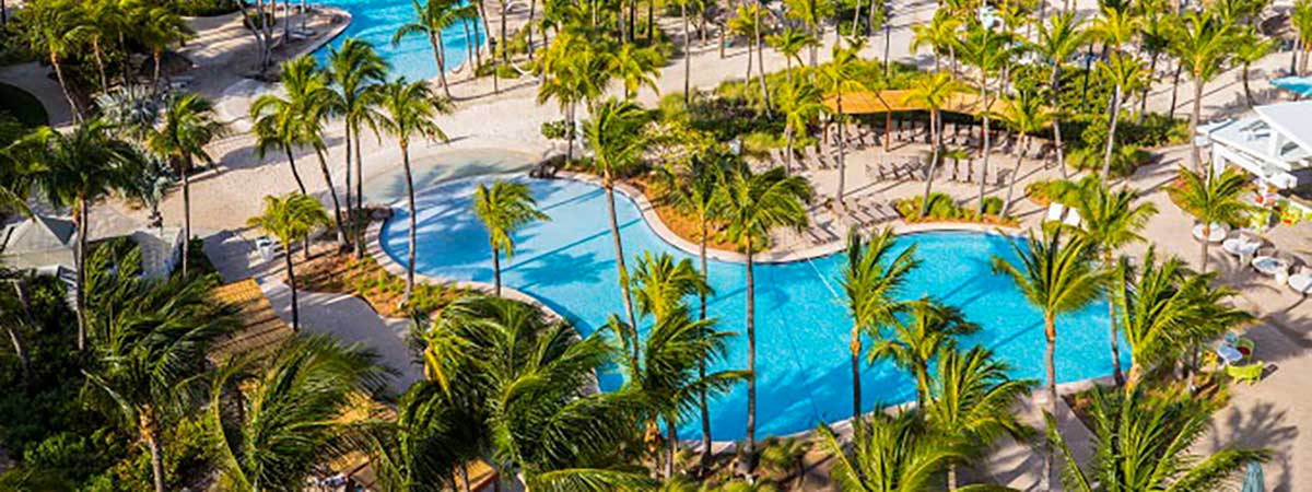 Get an added boost of paradise with your 7th night free at the Hilton Aruba Caribbean Resort and Casino