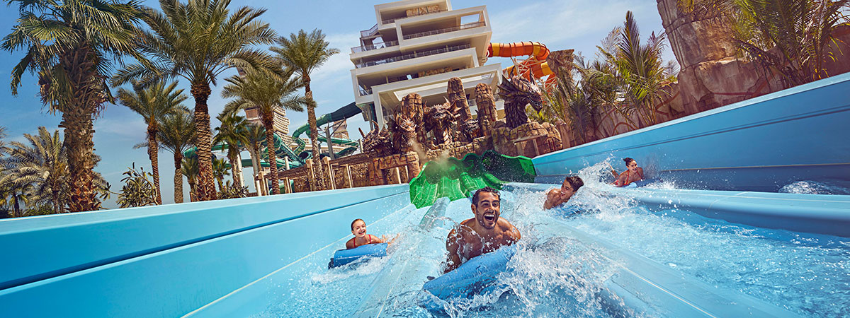 Book Atlantis, The Palm for a chance to win A 5-night stay in One Bedroom Regal Club Suite on Half Board meal plan for 2 adults!