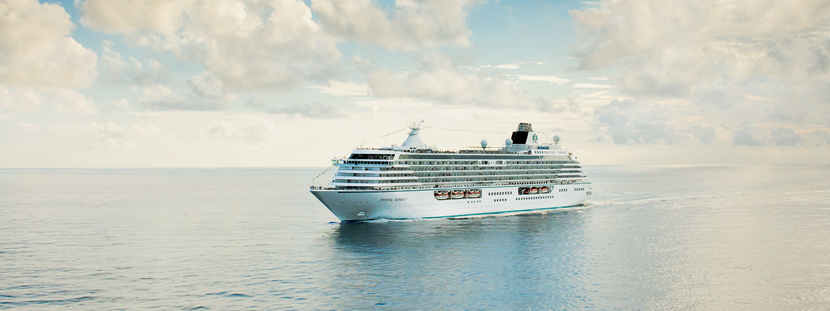Up to $200 Shipboard Credit on Crystal*