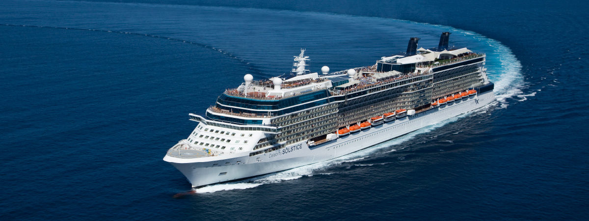$100 Shipboard Credit on Celebrity Cruises®