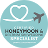 Certified Honeymoon and Wedding Travel Specialist